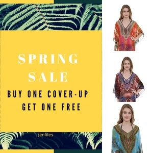 NWT Cover-Up - Tops - Multi-color One Size
